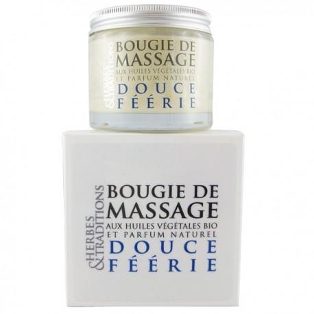 Bougie de massage naturelle - Douce Féérie