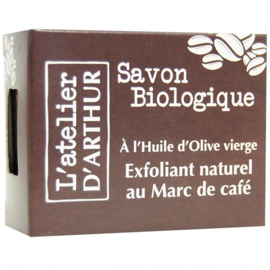 Savon Exfoliant Marc de Café 100 gr – Anti-cellulite et Circulatoire