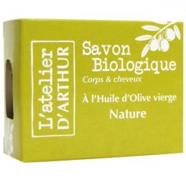 Savon Huile d'Olive Pure 100gr – Corps et Cheveux