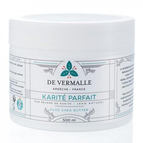 Beurre de Karité Bio 500ml - Pur et Non raffiné