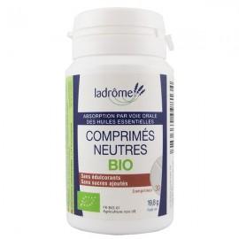 Comprimés Neutres Bio - Absorption huiles essentielles voie orale