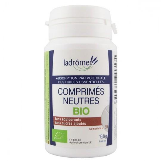 Comprimés Neutres Bio - Pour huiles essentielles