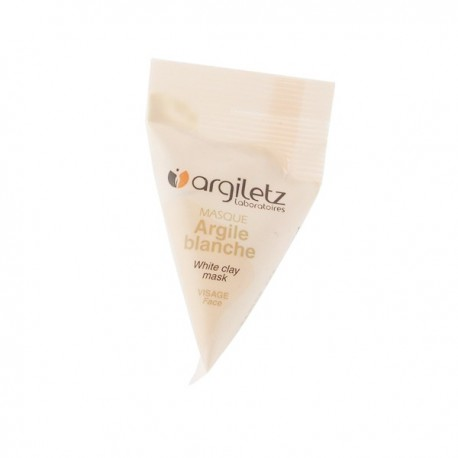 Masque Visage Argile Blanche - Berlingot 15ml
