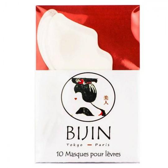 Masque en tissu pour lèvres (par 10) - Soin et douceur