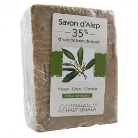 Savon Alep 35% - Peaux sèches et sensibles