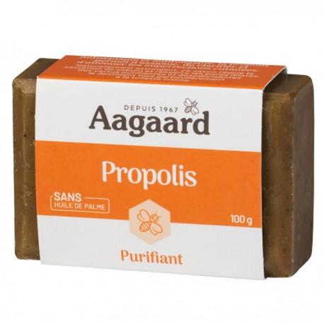 Savon Propolis Aagaard 100 gr Purifiant et anti-imperfections sans huile de palme