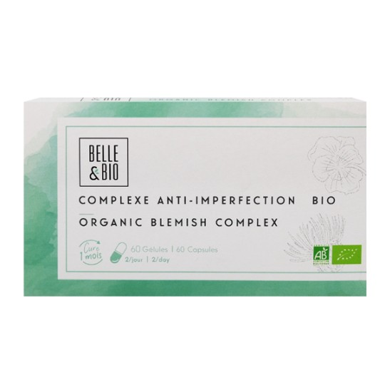 Complexe de plantes Bio 60 Gélules - Anti-imperfections