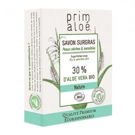 Savon Surgras 30% Aloe Vera 100g - Peaux sèches et sensibles