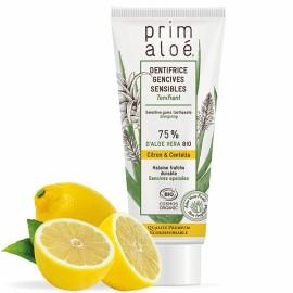Dentifrice Bio Citron Gencives Sensibles 75 ml – 75% Aloe Vera