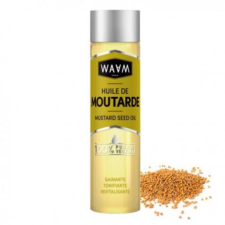 Huile de Moutarde 100 ml - Revitalisante et Stimulante