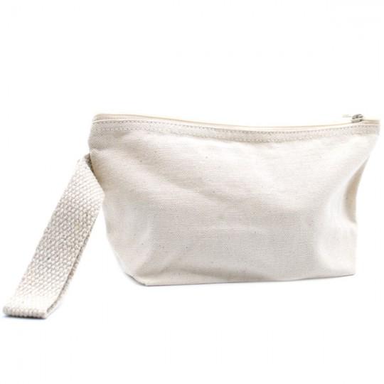 Trousse de toilette Écru écologique - 100% Coton