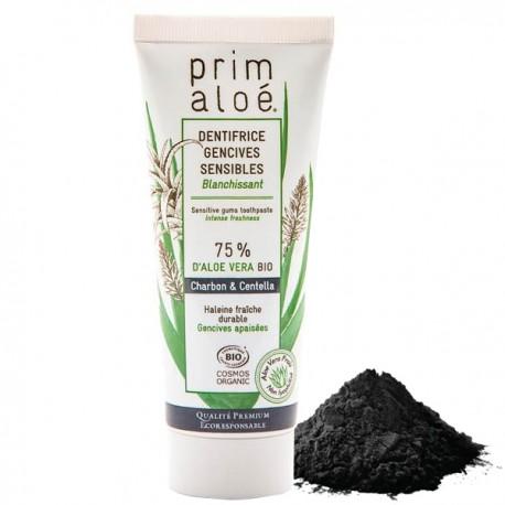 Dentifrice Bio Charbon Blanchissant 75 ml – 75% Aloe Vera