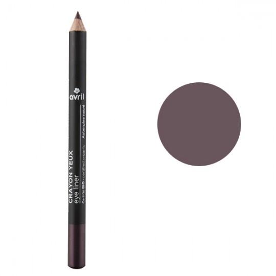 Crayon pour les yeux bio - Aubergine nacré