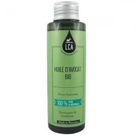 Huile d'Avocat Bio 100 ml - Élasticité et Confort