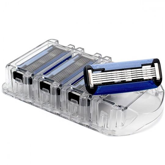 4 Recharges Rasoir Shave - 5 lames recyclés