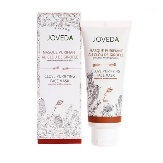 Masque Purifiant au Clou de Girofle 120 ml - Peaux grasses et à problèmes - JOVEDA