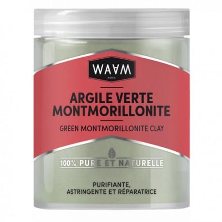 WAAM Argile Verte Montmorillonite 250 gr - Visage, Corps et Cheveux