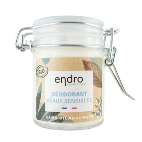 Déodorant solide Bio 50 ml Peaux Sensibles - Aloe vera et Concombre