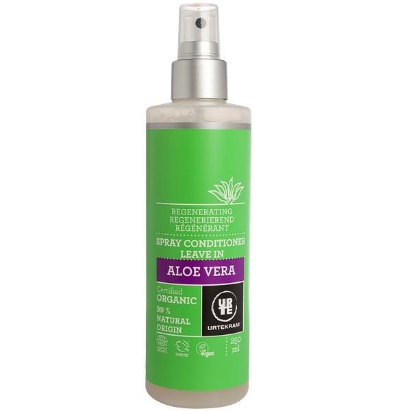 spray apr s shampoing l 39 aloe vera 250 ml r g n rant urtekram. Black Bedroom Furniture Sets. Home Design Ideas