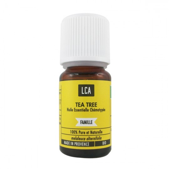 Huile essentielle de Mélaleuca (Arbre à thé)