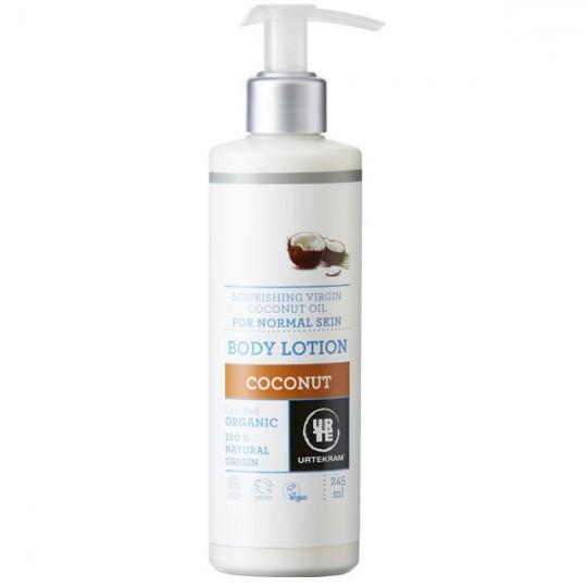 Lait Corps Nourrissant 245ml - Noix de coco - La gamme Noix de coco de la marque Urtekram. Retrouvez l'essentiel d'Urtekram.