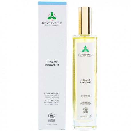 Huile neutre 100 ml non parfumée - Corps et Massage