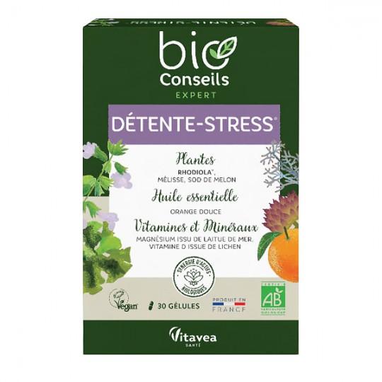 Synergie d'Actifs Détente-Stress 30 gélules
