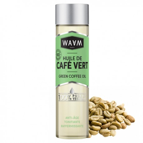 Huile de Café Vert 100 ml - Raffermissante et Tonifiante