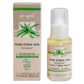 Huile Aloe Véra Bio Hydratante 100% Pure 50 ml - Visage et Cheveux