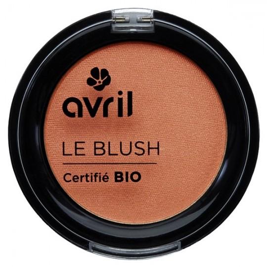 Fard à joues Pêche rosé bio - Fard à joue aux notes peches rosés, ce blush d'avril est un maquillage bio et naturel parfait