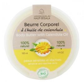 Beurre corporel Huile de calendula 120 ml - Peaux sensibles et réactives