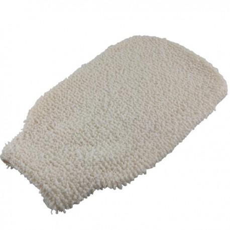 Gant en Ramie Douceur - Exfoliant et Nettoyant - Un gant 100% en ramie naturel pour les gommer et exfolier les peaux mortes.