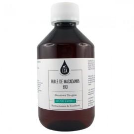Huile de Macadamia bio 250 ml - Vergetures et peaux sèches