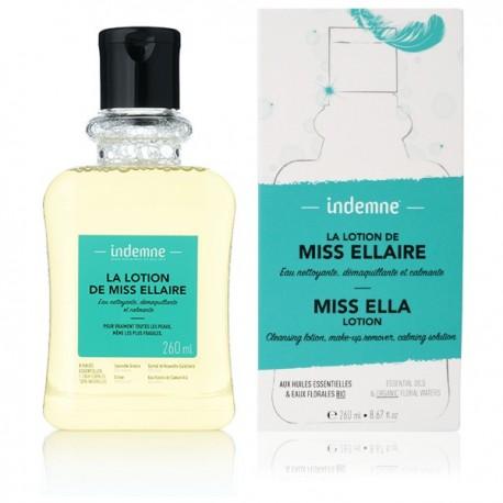 Lotion Miss Ellaire - Nettoyante démaquillante et apaisante - Indemne