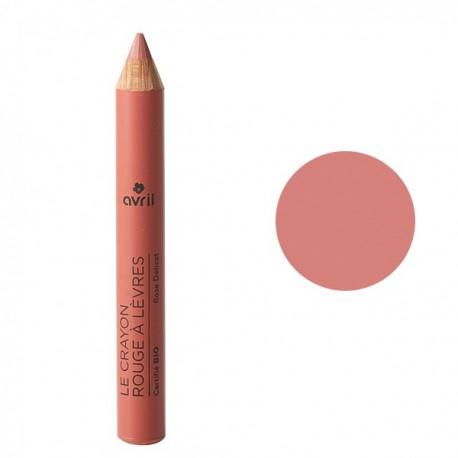 Crayon rouge à lèvres - Rose Délicat - Maquillage avril bio acheter
