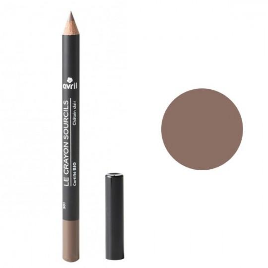 Crayon Sourcils Bio - Châtain clair Avril Maquillage bio