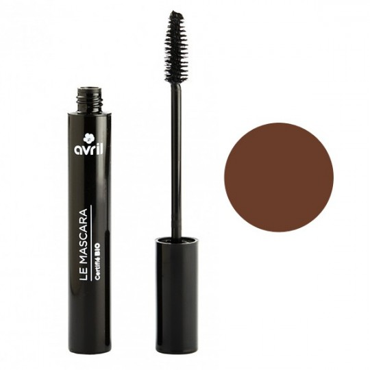 Mascara Marron Bio Longue Tenue - 9ml - Avril Maquillage bio