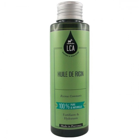 Huile de Ricin 100% pure et naturelle - Fortifiante - Huile de ricin contre la chute de cheveux