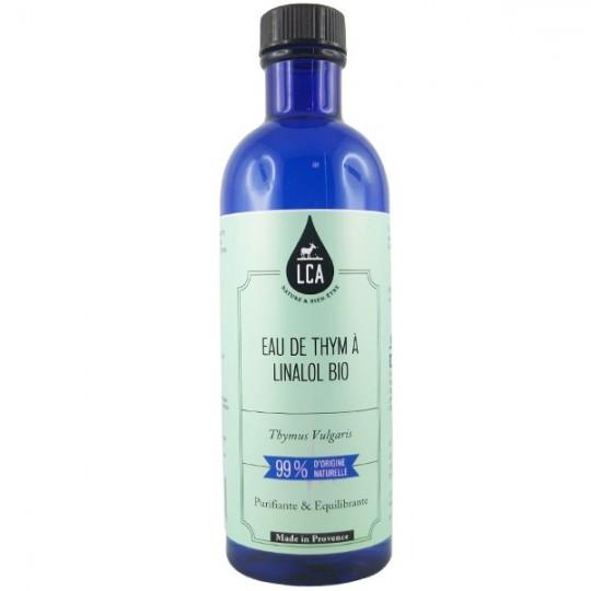 Eau Florale de Thym à Linalol 200ml - eau florale pour les peaux grasses et impures sujettes à l'acné