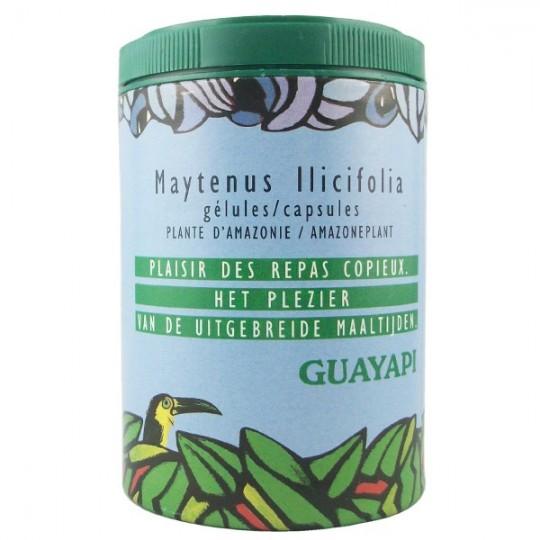 Maytenus Ilicifolia - Troubles digestifs - Guayapi Flacon de 90 gélules Idéal après un repas copieux et problèmes de digestions