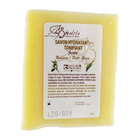Savon anti acné très efficace. Composé avec des ingrédients exclusivement naturels et bio, ce savon enlève les boutons et l'acné