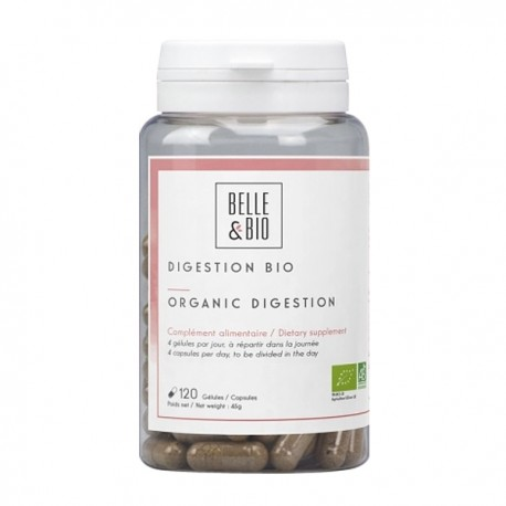 Digestion Bio 120 gélules - Confort digestif