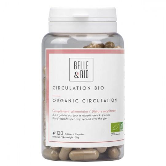 Circulation Bio 120 gélules - Rougeurs, Couperose, Troubles circulatoires Belle et Bio