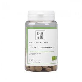 Minceur 4+ Bio 120 comprimés - Brûleur, Draineur, Ventre plat et Capteur de graisses
