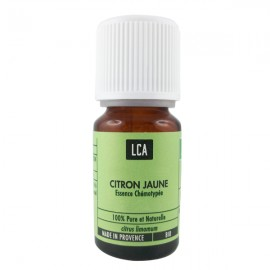 Huile essentielle de Citron Bio 10 ml