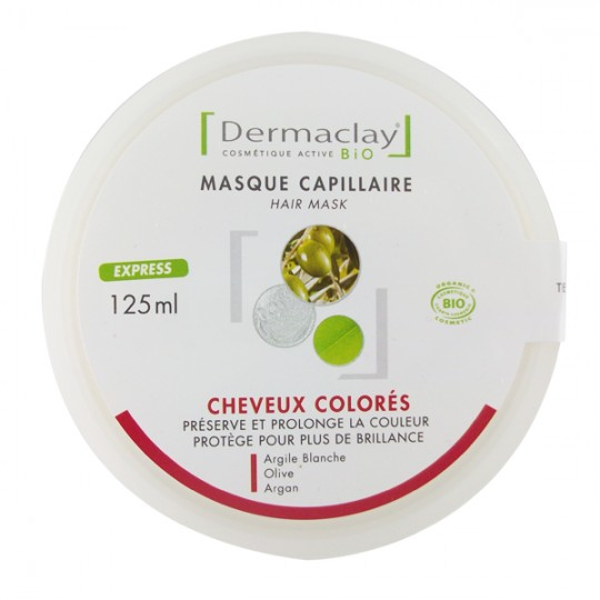 Masque Capillaire Cheveux Colorés, décolorés et Méchés