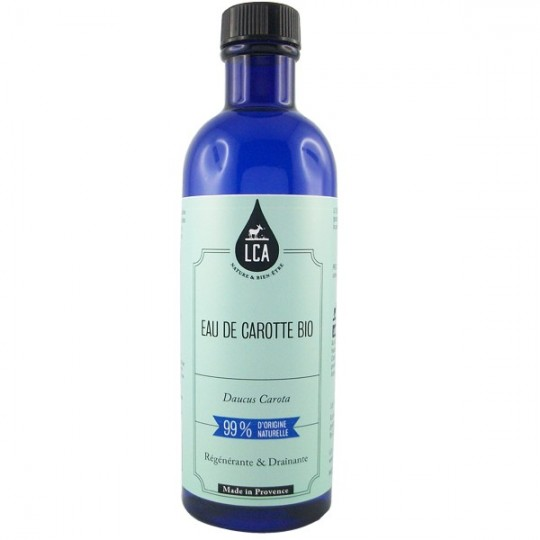 Eau florale de Carotte Sauvage bio - Régénérante et drainante idéale pour les peaux sensibles.