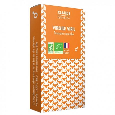 Virgile Viril Claude Aphrodisiacs - Provocateur d'Érection produit naturel pour avoir une belle érection