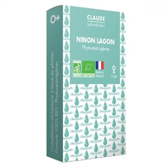 Ninon Lagon Claude Aphrodisiacs - Contre la sécheresse vaginale et vulvaire pour un meilleur confort au quotidien naturel