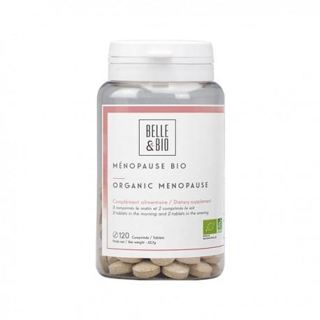 Complément Alimentaire bio pour la ménopause - Stop les troubles de la ménopause - Bouffée de chaleur, irritabilité - Comprimés
